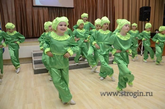 хореографический коллектив «Лучинушка» на концерте 1