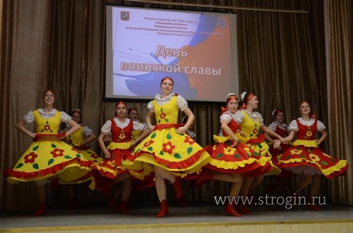 хореографический коллектив «Лучинушка» на концерте 4